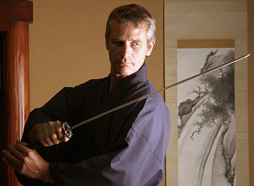 Samurai plan at studio