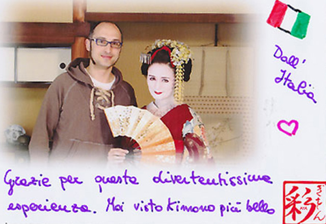 Maiko and Geisha from italy