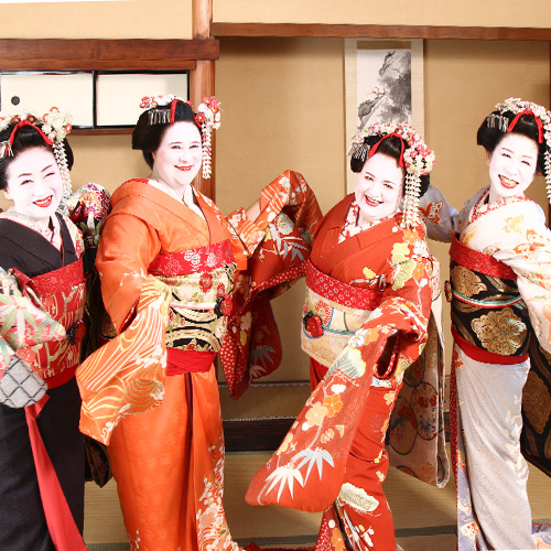 Maiko and Geisha makeover Selfie course
