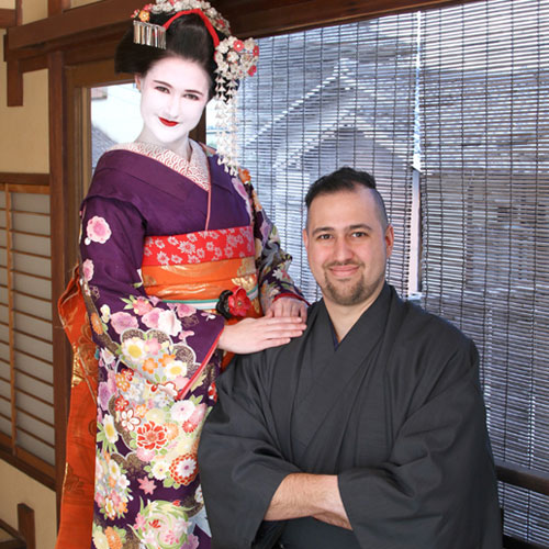 Maiko and Geisha makeover Couple Studio course