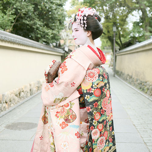 Maiko and Geisha makeover Walking course