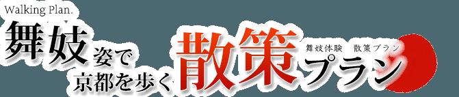 舞妓体験・京都散策プラン