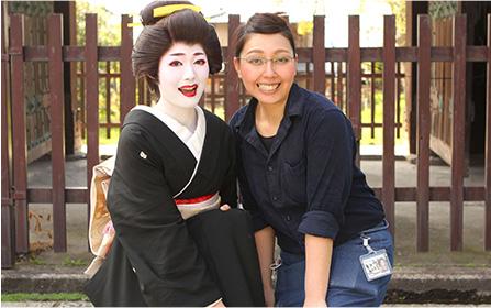 舞妓体験ぎをん彩 高沢由紀子