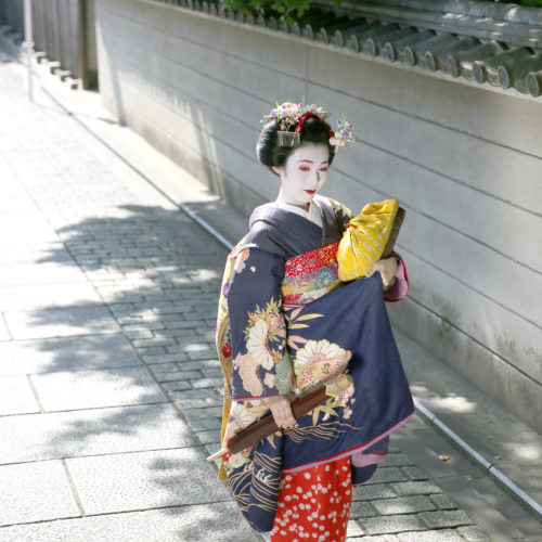 舞妓体験・舞妓変身写真