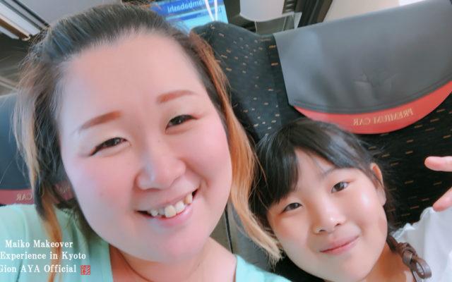 京都といえば、舞妓体験!!&女子が大好きな、、、、、、そぅ!スィーツです☆今回はぎをん彩周辺のお店に行って来ちゃいました♪
