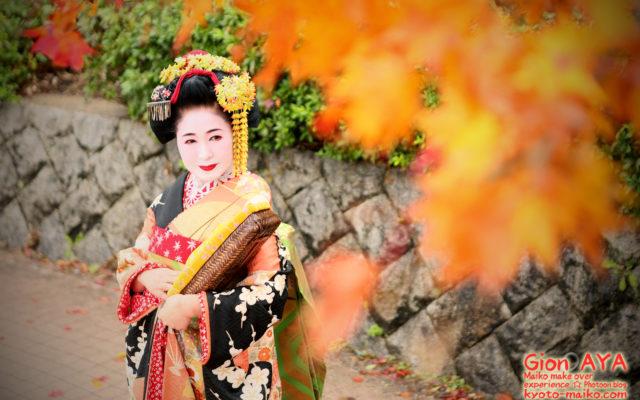 お久しぶりです☆神田です!(←誰?)☆ぎをん彩☆秋の紅葉フォト☆今年も撮りたてピチピチのお客様ご紹介☆ご覧くださいませ☆
