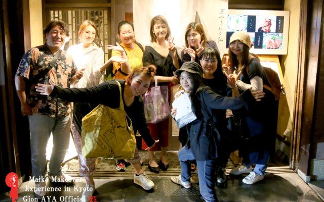 株式会社 彩☆毎年恒例&みんなのお楽しみ、彩の親睦食事会を行いました~~♪京都で話題の焼肉弘さんへ!!食べや歌えや語らえや!彩のみんなはどんな時でも楽しむことを忘れないのです\(^o^)/合言葉は、、「Let's Enjoy!!」