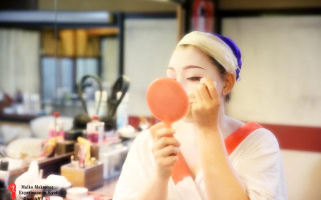 I tried to take a video. (Maiko and Geiko~Geisha~) ☆Self makeup☆