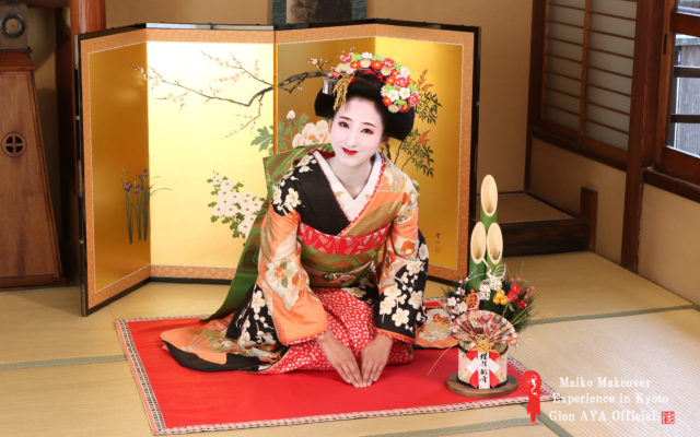 The last day of this year and the beginning of next year's our shop!!!!! ♡Geisha and Maiko♡