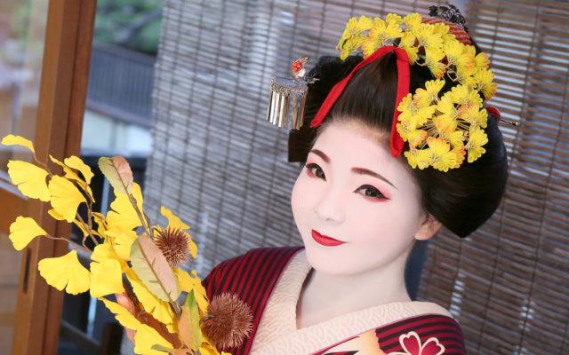 "Maiko and Geisha experience kyoto ""Gion AYA staff introduction"" Makeup staff=""MIRAI KONAWA"""