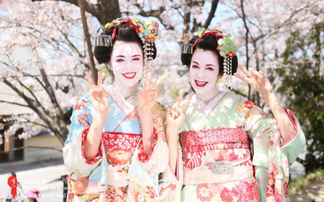 ぎをん彩~~最近暗いニュースばかりでイヤになっちゃうこの頃、、、。って事で、今回は暗いニュースを吹っ飛ばそう!!もぅ時期桜の季節がやってきますよ(^^♪可愛い桜と一緒に舞妓姿で、華やかなお写真はいかがですか(*^_^*)