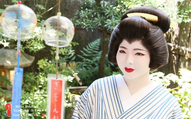 Geisha girl. ~In Courtyard~