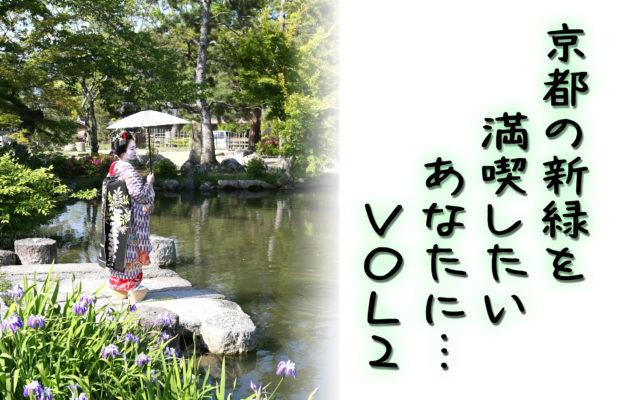 新緑の季節の野外撮影♡瑞々しい緑が美しいお写真が盛りだくさん♪♪【円山公園編】