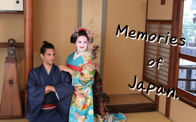 """By the way, there was a movie titled """"Memories of Geisha"""". What she experienced was Maiko style. Making memories of Japan before returning. Thank you for visiting our shop."""