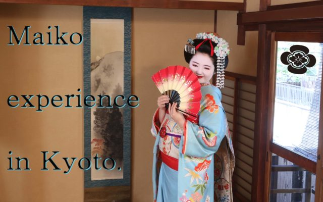 """Maiko experience in Kyoto. """"Gion AYA"""""""
