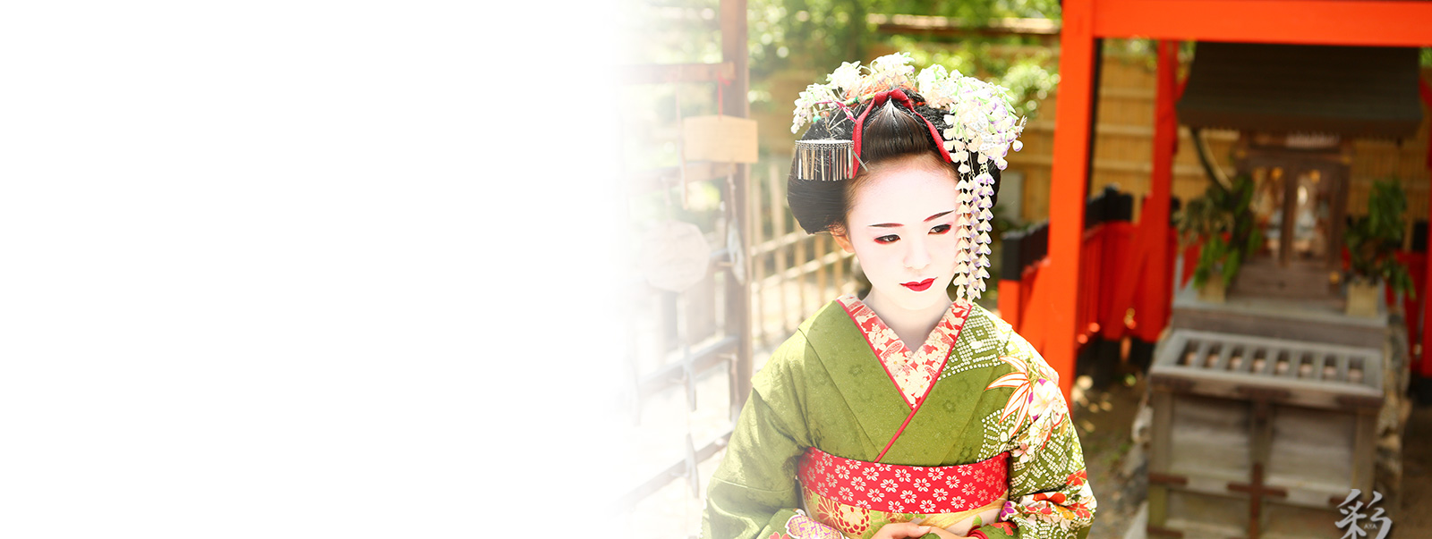Maiko and Geisha makeover plan at studio
