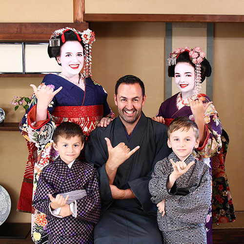 Maiko and Geisha makeover Family Studio Course