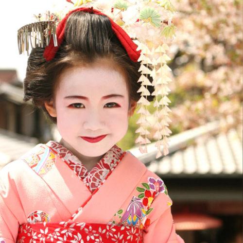 京都舞妓体験お子様お散歩プラン