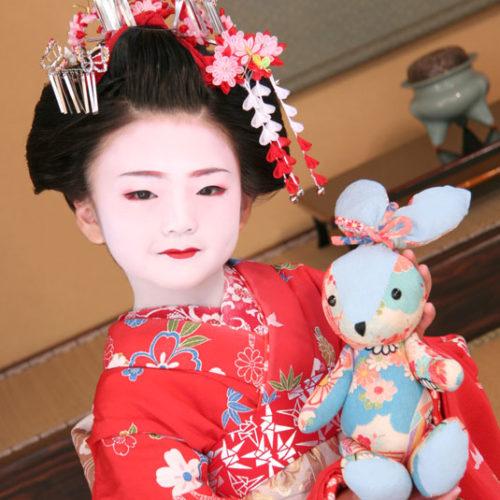 京都舞妓体験お子様お部屋プラン