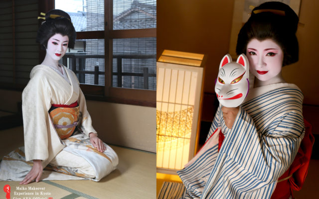 Why are Maiko and Geiko(Geisha) makeup white?