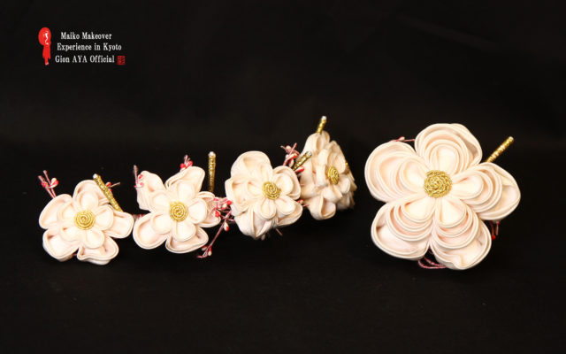"Maiko ""February Japanese ornamental hairpin (KANZASHI) """